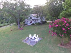 My drone photos of Orchard House. What a great home property!