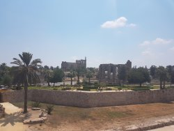 View of Famagusta from Othello's Tower.