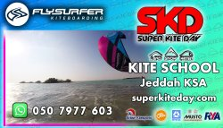 Jeddah Kitesurfing School Super Kite Day