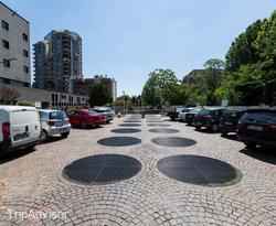 Parking at the Ibis Milano Ca Granda