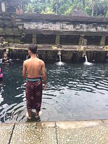 Pemandian Pura Tirta Empul, Tampaksiring, Gianyar, Bali. This place known as a bathing place. (273497224)