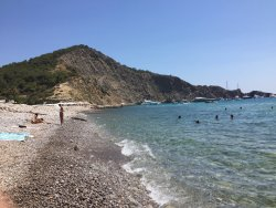 Cala Jondal beach