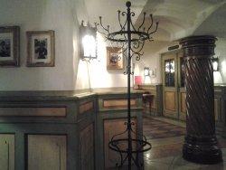 ...inside the underground restaurant