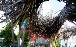 Sculpture rue de Nimy