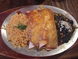 Enchiladas (beef, chicken, pork)