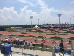 Novant Health BMX Supercross Track