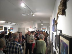The Loft Gallery is located on the second floor of DVAA.