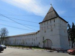 Znamenskaya Tower With The Church