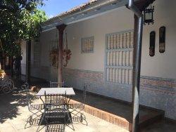patio du restaurant Real