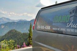 At the top of Idaho peak