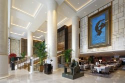 The Lobby at The Peninsula Beijing