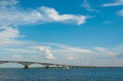 Highway Bridge Saratov - Engels