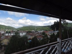 View from the veranda room