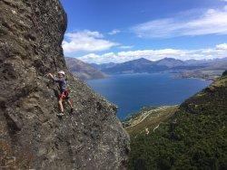 Climbing Queenstown