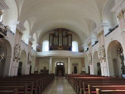St. Alexander Kirche, Rastatt, Alemania.