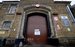 Entrance to Brixton prison