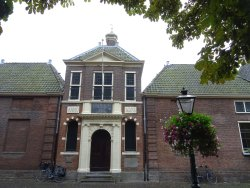 Rijksmonument Jean Pesijnhofje Leiden