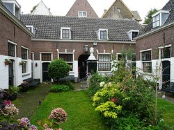 Rijksmonument Schachtenhofje Leiden