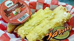 Delicious cheese sticks!