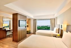 Newly Renovated Executive Deluxe Twin Guest Room