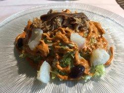 xató (plato típico de Vilanova)
