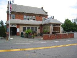 The Tusten Theatre, located at 210 Bridge Street in Narrowsburg, NY.