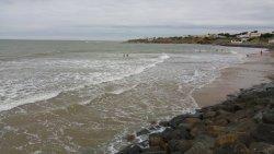 La plage de la Parée.