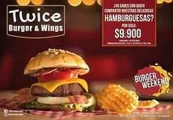Twice Burger Wings