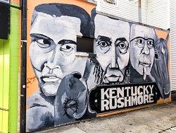 Kentucky Rushmore Mural