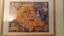 mappa della romagna