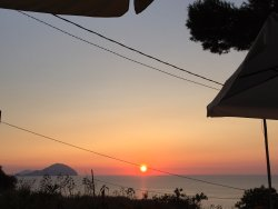 Bellissimo tramonto