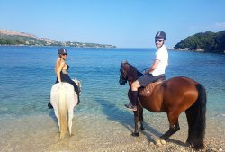 Corfu Riding Centre (Dimitris)ISSOS