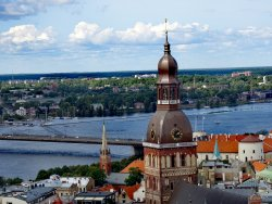 View of Riga from St Peter's Church Tower
