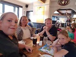 A birthday meal with family not booked just walked in and was well worth it