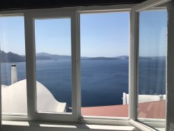 The most beautiful hotel in Oia