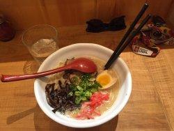 Ramen japonais exquis!