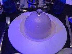 Fantástica cena en restaurante Aqua