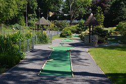 Squirrel Cafe and Mini Golf, Boscombe Chine Gardens