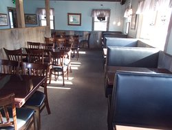 Sitdown dinning area.