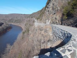 Famous Hawk's Nest  Drive and Delaware River Scenic Byway.