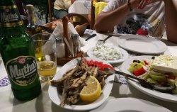 Alici e greek salad