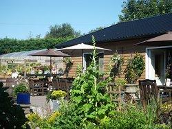 Cafe in the garden centre at Glenbarr Stores