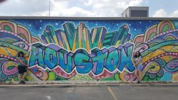 Houston Graffiti Building