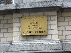 Birth Place of Audrey Hepburn