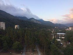 View on Borjomi valley