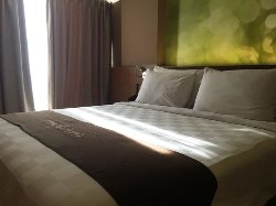 Hotel budget di lokasi yang bagus