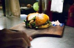 Burger - perfect size, beautiful taste