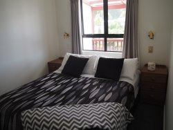 Apartment 2 separate bedroom with queen bed.