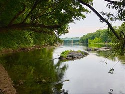 C&O Canal Hike at Point of Rocks Boat Ramp