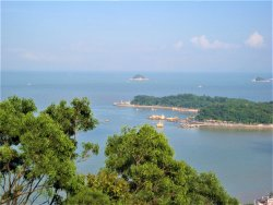 Mt. Jingshan Park of Zhuhai